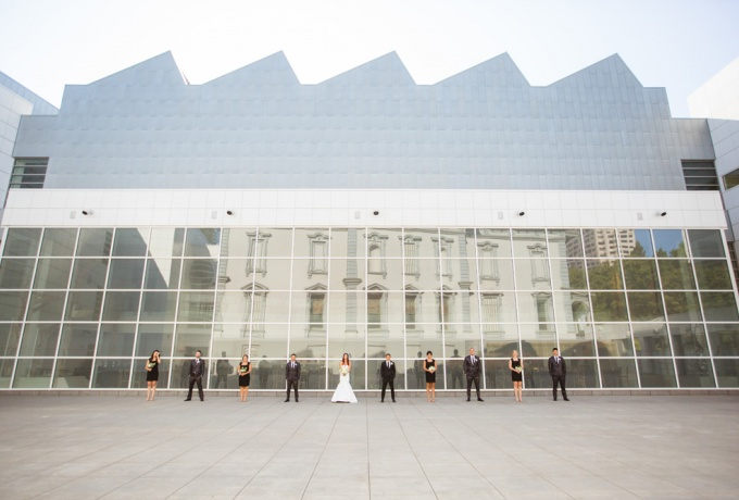Crocker Art Museum offers bright and clean or sophisticated and dramatic backgrounds for any photo session.