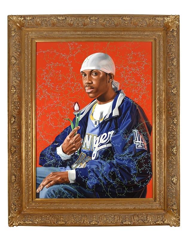 Kehinde Wiley Portrait Acquired Crocker Art Museum