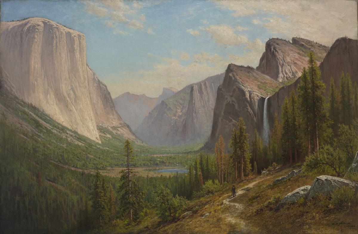 visiting exhibition raymond dabb yelland california landscape