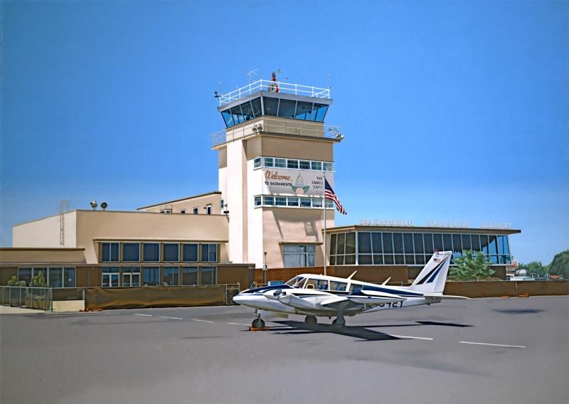 Sacramento Airport 1970 Crocker Art Museum